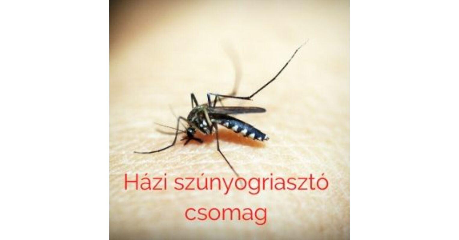 Természetes szúnyogriasztó házilag alapanyag csomag