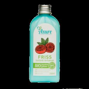 Azure friss natúr bio tusfürdő férfiaknak grapefriut-gyömbér - 200 ml SLS-mentes és parabén-mentes tusfürdő