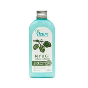 Azure nyugi natúr bio tusfürdő férfiaknak citromfű-komló - SLS-mentes és parabén mentes tusfürdő