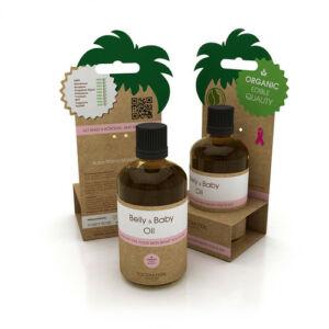 Coconutoil baba-mama natúr ápoló olaj striák ellen is - 100 ml