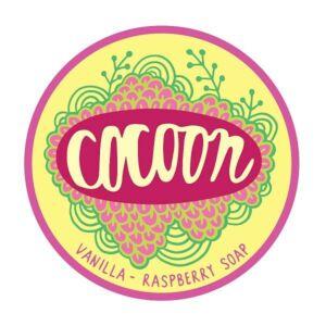 Cocoon vanília-málna kézműves vegán szappan