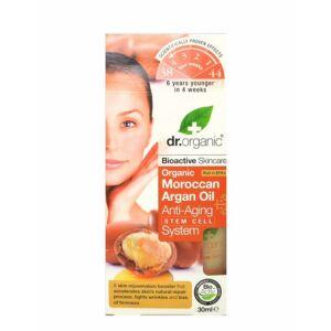Dr. Organic bio marokkói argán olaj öregedésgátló komplexum aloéval - 30 ml