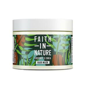 Faith in Nature kókusz-shea vaj hajpakolás - 300 ml