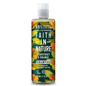 Faith in Nature natúr grapefruit és narancs sampon - parabén- és SLS-mentes