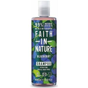 Faith in Nature natúr kék áfonya sampon - parabén- és SLS-mentes