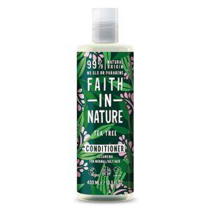 Faith in Nature natúr teafa hajkondícionáló - parabén- és SLS-mentes