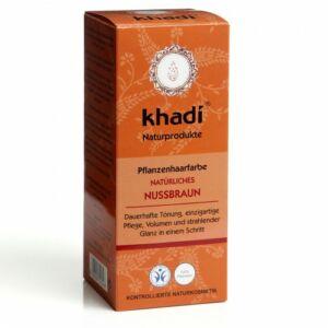 Khadi natúr hajfesték por mogyoró