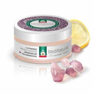 Medinatural C-vitamin-hialuronsav feszesítő arcmaszk - 100 ml