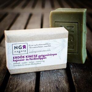 Nagora Erdők Kincse gyógynövényes hajmosó- és fürdőszappan