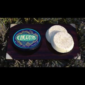 Cocoon zabpehely masszázstömb shea és kakaóvajjal