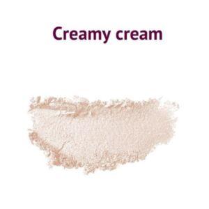 Glamoriginal natúr, vegán por állagú szemhéjpúder - Creamy Cream - 1.5 g