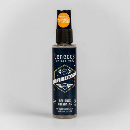 Benecos férfi natúr spray dezodor - alumíniummentes