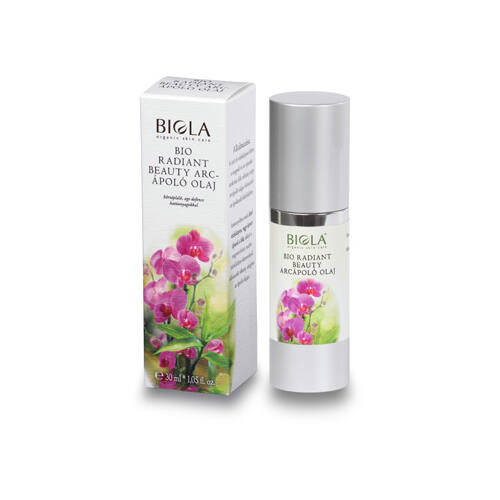 Biola bio radiant beauty arcápoló olaj - 30 ml