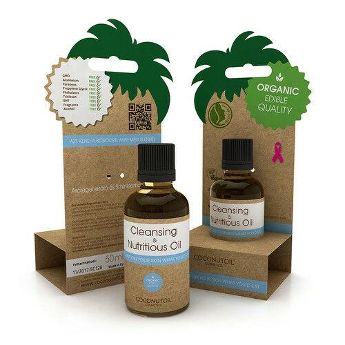 Coconutoil arctisztító és tápláló olaj érzékeny bőrre - 50 ml
