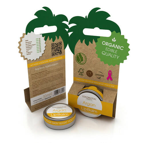 Coconutoil argánolajos ajakápoló - 10 ml