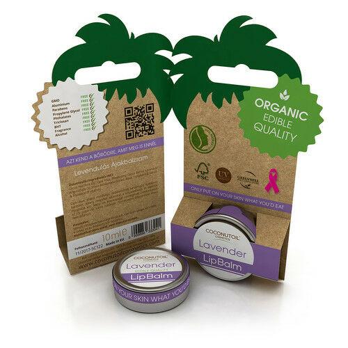 Coconutoil levendulás ajakápoló - 10 ml