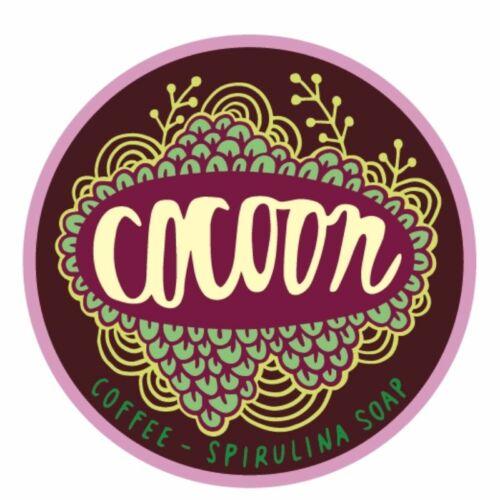 Cocoon spirulina-kávé kézműves natúr szappan