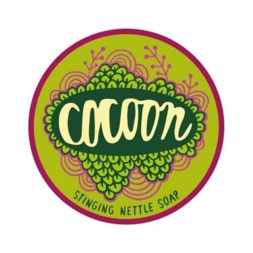 Cocoon csalán-teafa-zöld agyag natúr, kézműves szappan