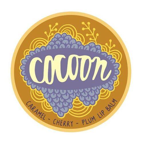 Cocoon karamell-cseresznye-szilva vegán ajakbalzsam