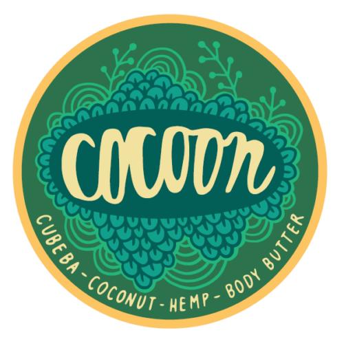 Cocoon Cubeba kókusz-kender testvaj kakaóvajjal