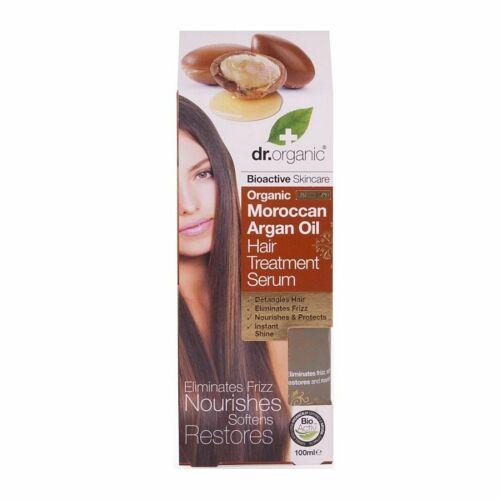 Dr. Organic bio marokkói argán olaj hajápoló szérum