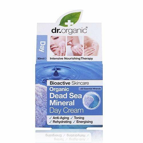Dr. Organic bio holt-tengeri nappali natúr arckrém aloe verával