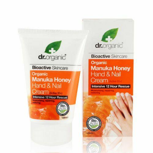 Dr. Organic manuka mézes kéz- és körömápoló krém - 125 ml