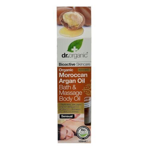 Dr. Organic bio marokkói argán olaj fürdő-masszázs olaj mandulaolajjal - 100 ml