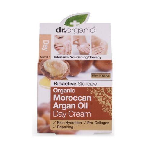 Dr. Organic marokkói argán olaj nappali natúr arckrém száraz bőrre