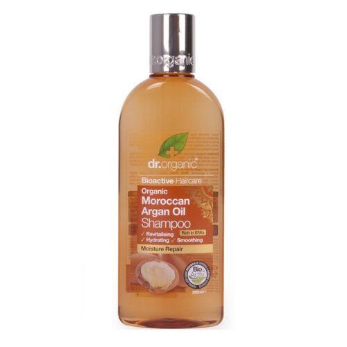 Dr. Organic bio marokkói argán olaj natúr sampon száraz hajra - SLS-mentes