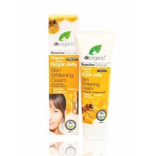 Dr. Organic bio méhpempő bőrfolt világosító krém tengeri algával - 125 ml