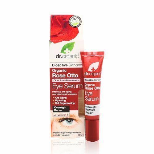 Dr. Organic bio rózsa szemkörnyékápoló szérum - 15 ml