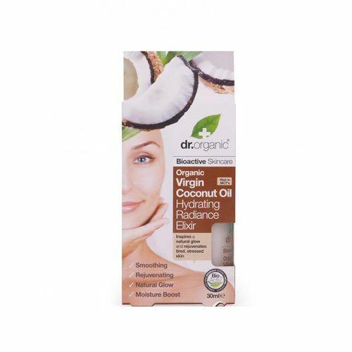 Dr. Organic bio szűz kókuszolaj hidratáló szépség elixír aloe verával - 30 ml
