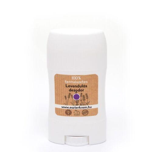 Eszterkrém shea vajas alumínium-mentes bio dezodor - levendulás