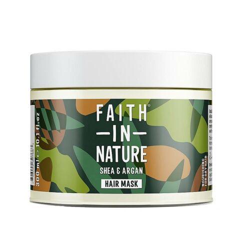 Faith in Nature argán-shea vaj hajpakolás - 300 ml