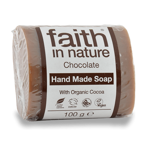 Faith in Nature kakaó kézműves natúr szappan - 100 g