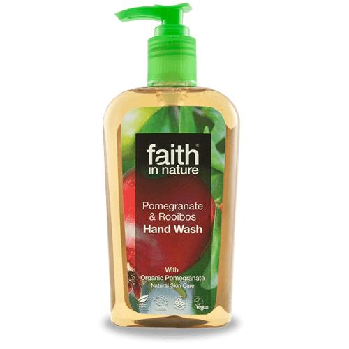 Faith in Nature gránátalma & rooibos folyékony kézmosó