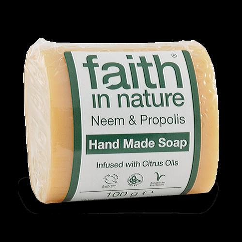 Faith in Nature neemfa  kézműves natúr szappan