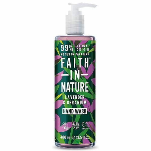 Faith in Nature levendula-geránium natúr folyékony szappan