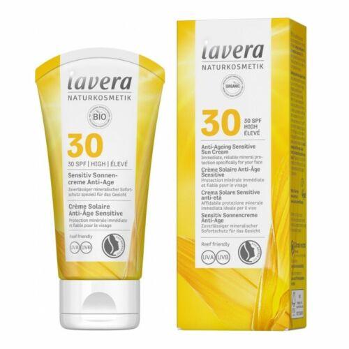 Lavera anti-age naptej fizikai fényvédővel SPF 30  - érzékeny bőrre
