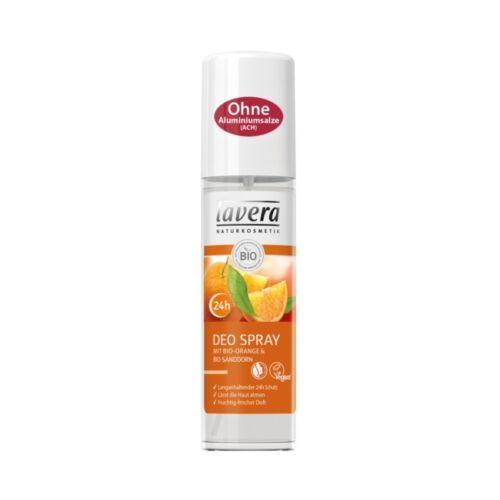 Lavera bio narancs és homoktövis alumínium-mentes pumpás natúr dezodor