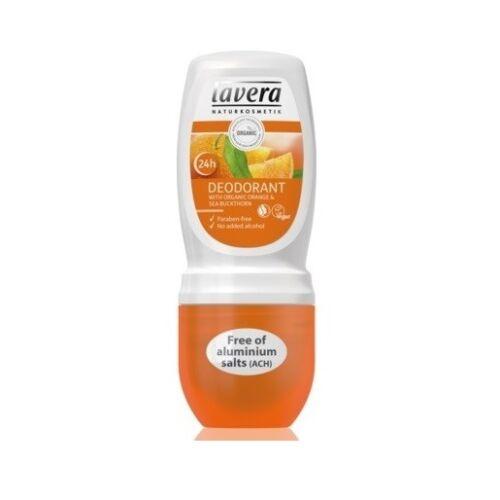 Lavera body spa narancs és homoktövis golyós bio dezodor - alumínium-mentes