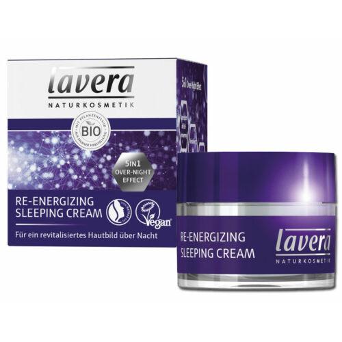 Lavera bio szépítő alvás natúr arckrém hialuronsavval száraz bőrre