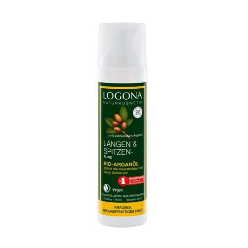 Logona bio argán olaj hajvégápoló folyadék töredezett, káros hajra - 75 ml