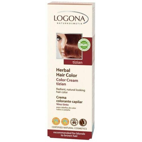 Logona növényi krémhajfesték tizian - 150 ml