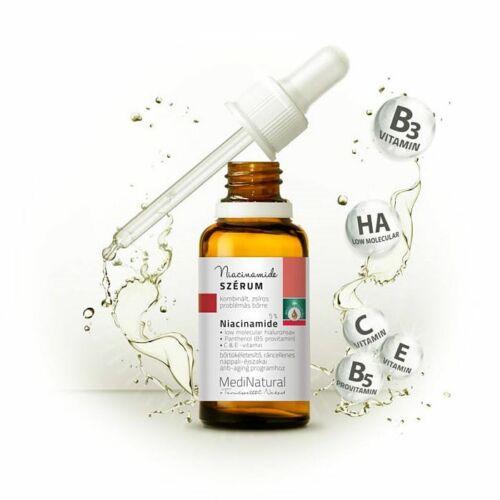 Medinatural pattanásellenes niacinamid szérum - 30 ml