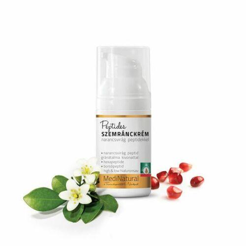 Medinatural ránctalanító 3 peptides szemránckrém hialuronsavval - 30 ml
