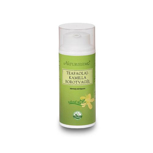 Naturissimo teafaolaj és kamilla borotvagél körömvirággal - 100 ml