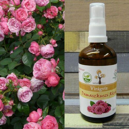 Naturpolc bio rózsa virágvíz spray