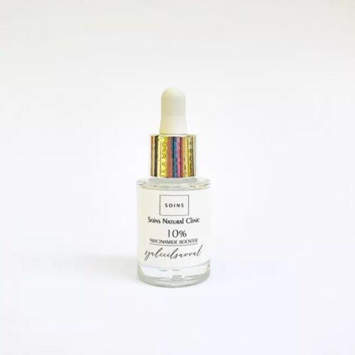 Soins 10% niaciamid booster szérum pattanásos, mittesszeres, tág pórusú bőrre